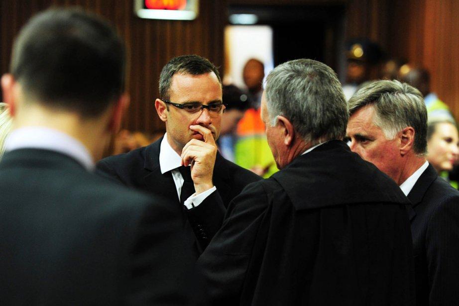 Depuis le drame, Oscar Pistorius n'est jamais retourné... (PHOTO LEON SADIKI, AFP)