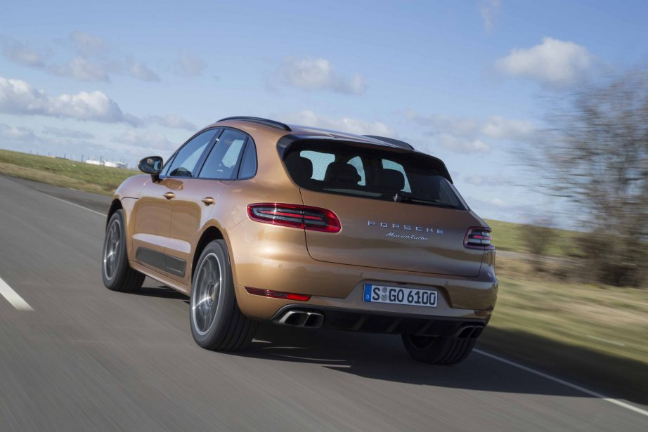 Porsche Macan Turbo (Photo fournie par Daniel Wollestein)