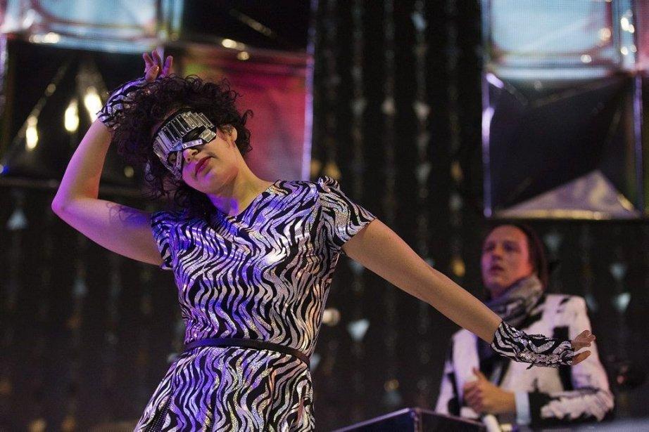 Régine Chassagne et Win Butler d'Arcade Fire en... (Photo: La Presse Canadienne)