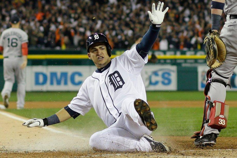 L'arrêt-court des Tigers de Detroit, Jose Iglesias.... (Photo Matt Slocum, AP)