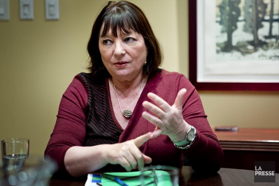 Monique Simard, qui a participé hier au Salon... (Photo: Marco Campanozzi, archives La Presse)