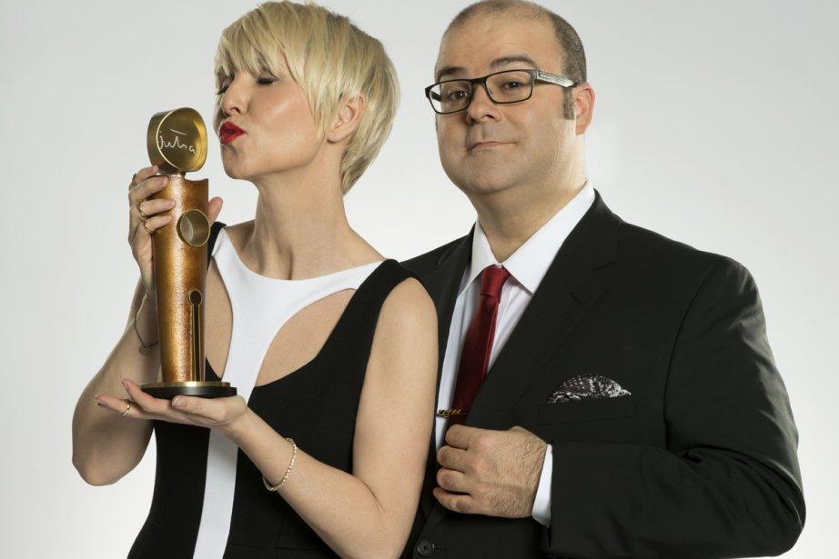 Pénélope McQuade et Laurent Paquin animent La soirée... (Photo: ICI Radio-Canada Télé)