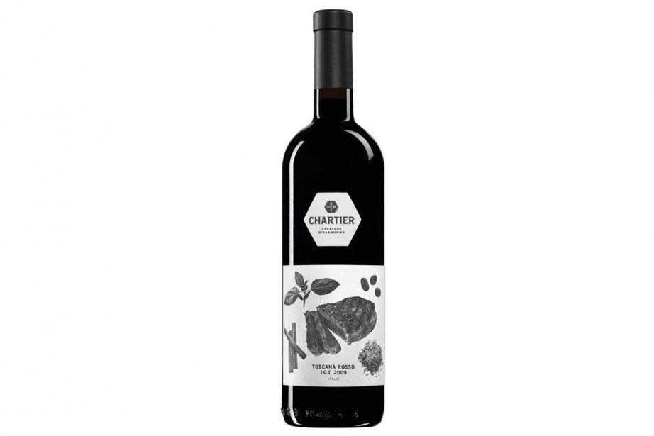 Le vin rouge de Toscane est le plus...