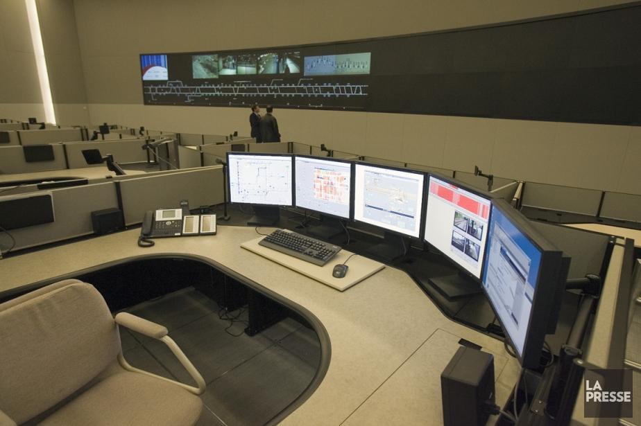 Le centre de contrôle du métro de Montréal.... (Photo André Pichette, ARCHIVES LA PRESSE)