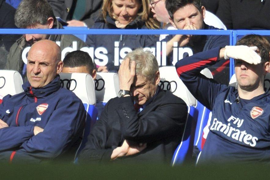 À l'occasion du 1000e match d'Arsène Wenger sur... (PHOTO GLYN KIRK, AFP)