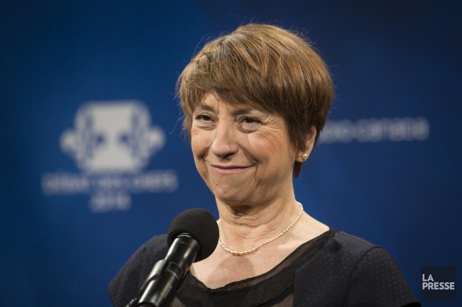 La porte-parole de Québec solidaire, Françoise David.... (PHOTO OLIVIER PONTBRIAND LA PRESSE)