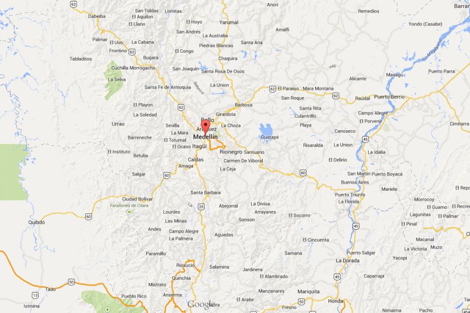 L'auteur présumé est décédé dans l'explosion, ainsi que... (Photo Google maps)
