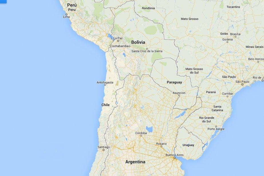 Un séisme de magnitude6,1 s'est produit... (IMAGE TIRÉE DE GOOGLE IMAGES)
