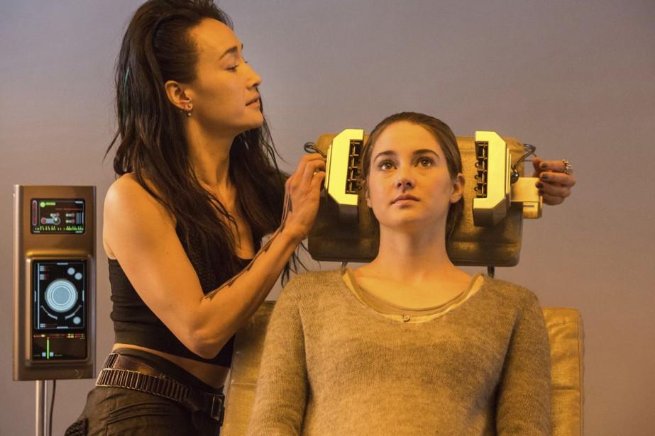 Maggie Q et Shailene Woodley dans Divergent.... (Photo: fournie par Films Séville)