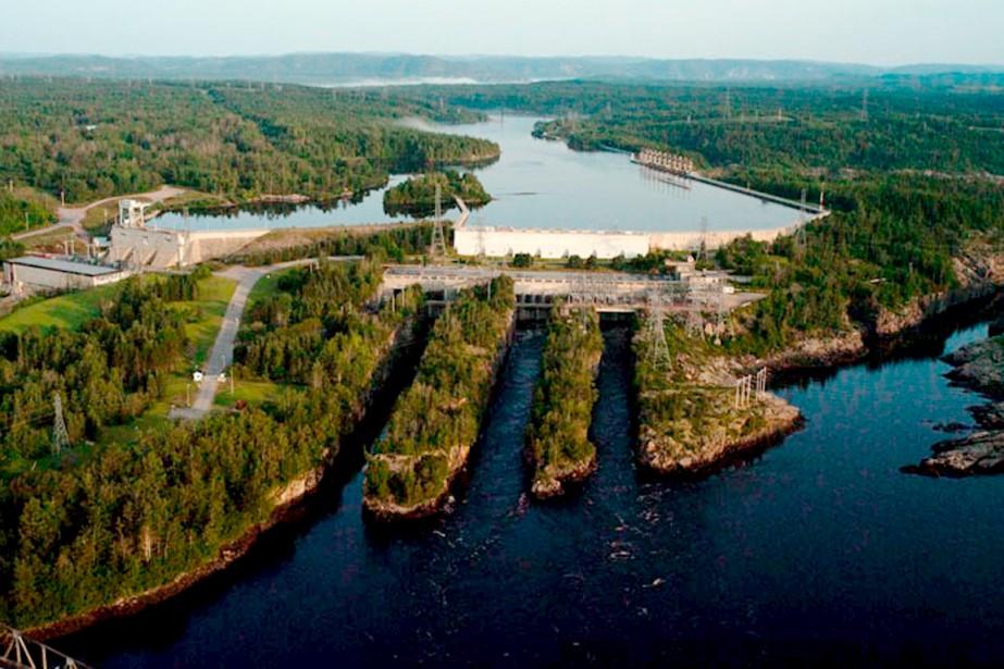 Le barrage McCormick, à l'entrée ouest de Baie-Comeau,... (Collaboration spéciale, Steeve Paradis)