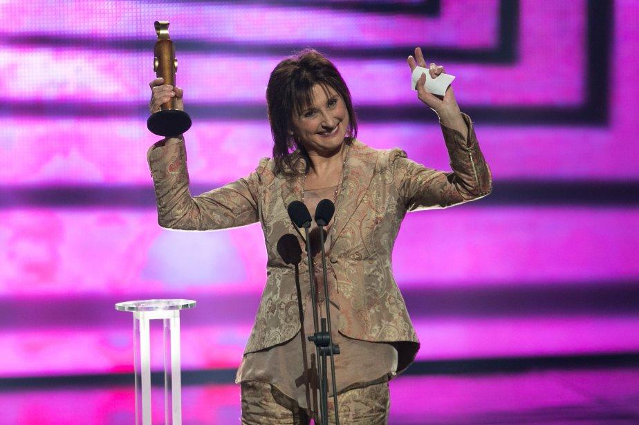 Pierrette Robitaille a été sacrée Meilleure actrice pour Vic + Flo ont vu un ours. (PHOTO HUGO-SÉBASTIEN AUBERT, LA PRESSE)