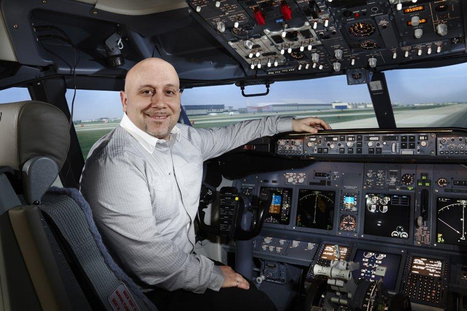 Stéphane Sélim est chef de service en ingénierie... (PHOTO FOURNIE PAR CAE)