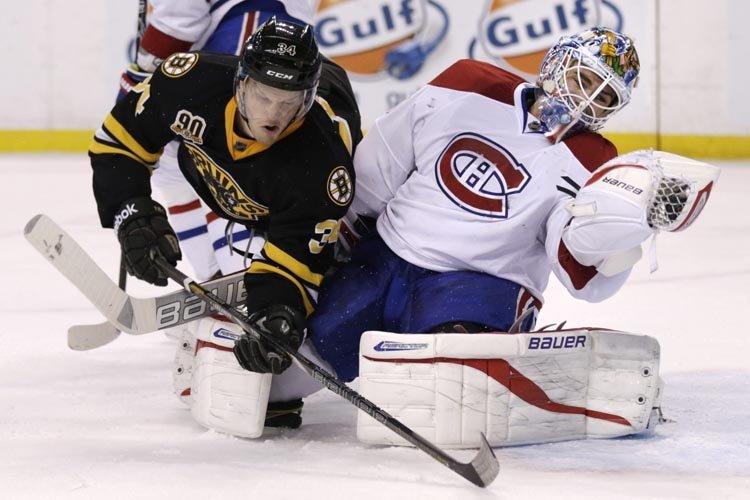 Pour les Bruins de Boston, les 12 victoires de suite ne sont plus qu'un vague...