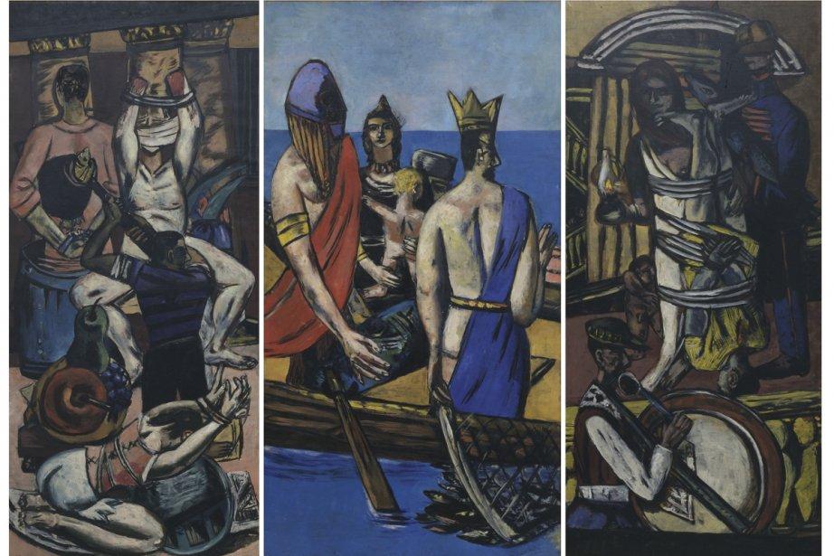 Le départ (1932-1935), de Max Beckmann. Dénigré par... (Photo: fournie par Neue Galerie)