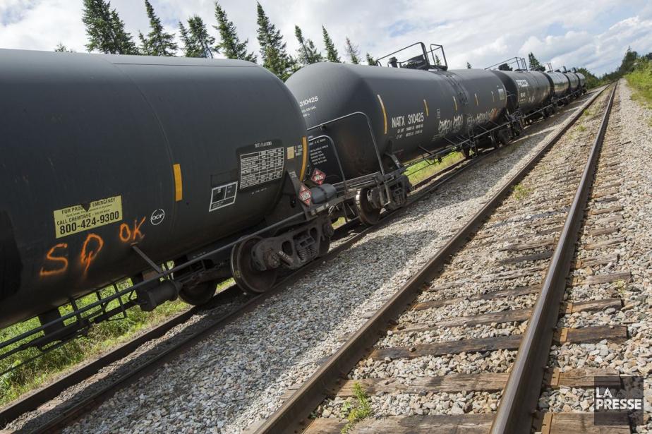 Les inquiétudes au sujet de vieux wagons DOT-111... (PHOTO EDOUARD PLANTE-FRÉCHETTE, ARCHIVES LA PRESSE)