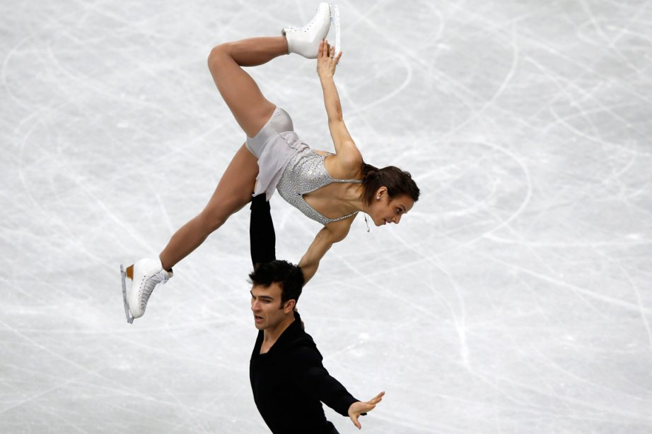 Meagan Duhamel et Eric Radford... (Toru Hanai, Reuters)