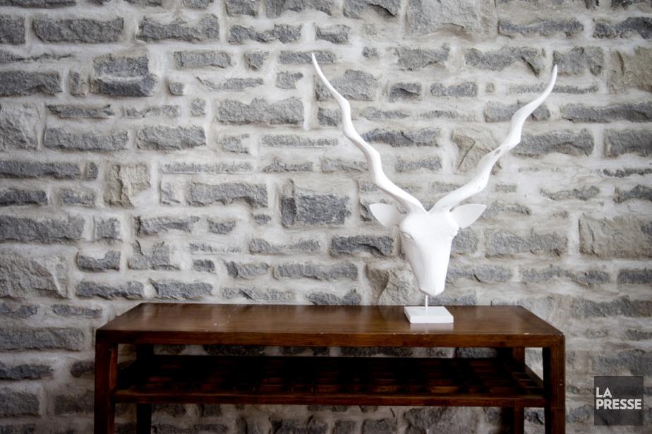 L'architecte Frédéric Leclerc a demandé au maçon de... (PHOTO MARCO CAMPANOZZI, LA PRESSE)