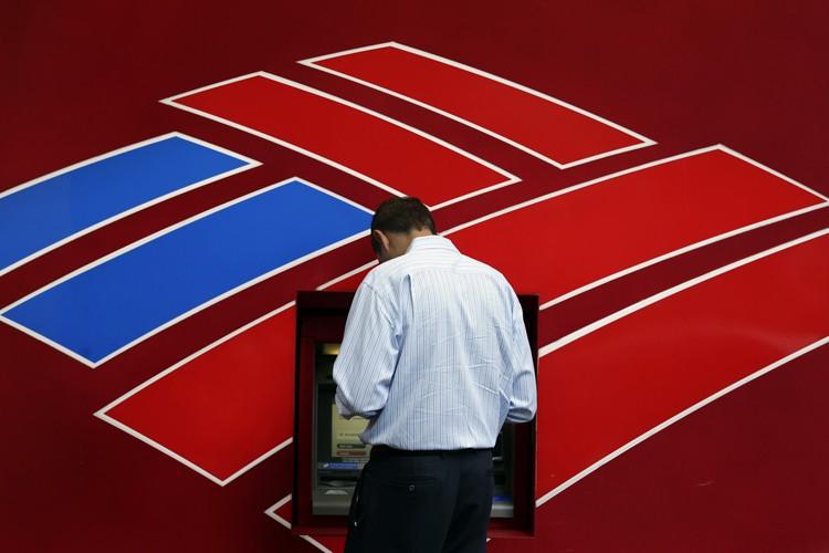 Bank of America (BofA) a clos mercredi au prix fort un... (Photo archives AP)