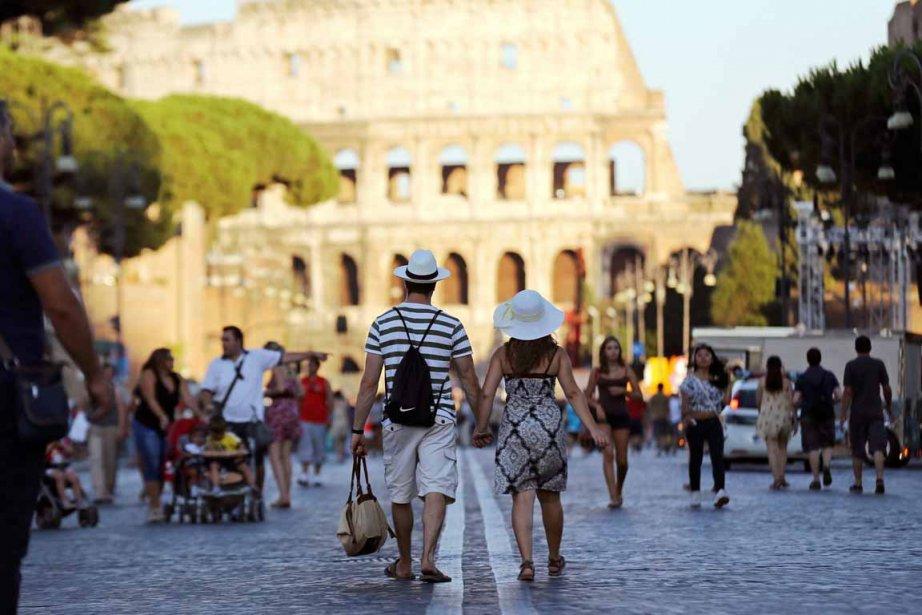 Rome est une ville hyper accueillante pour les enfants, bien que les vieilles pierres rendent la ballade parfois difficile avec la poussette... (Photo Alessandro Bianchi, archives Reuters)