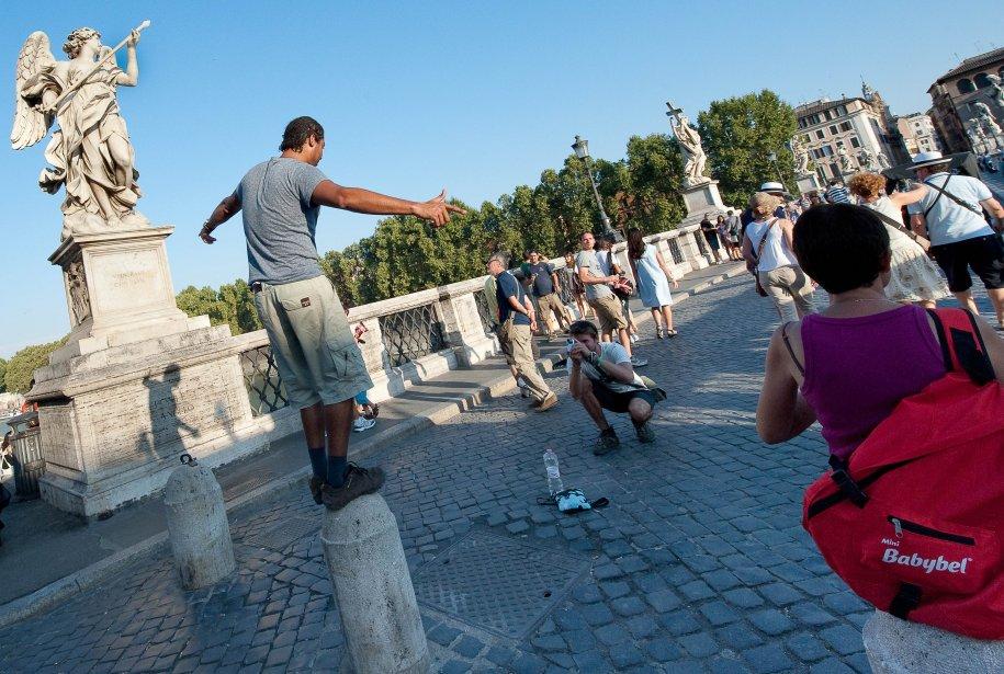 Une balade autour du Castel Sant'Angelo peut être fort agréable. (Photo Andrea Solaro, archives AFP)
