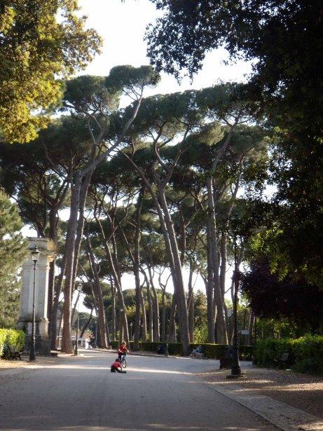 Un bon avantage pour Rome en famille: ses beaux espaces verts! (Photo Archives La Presse)