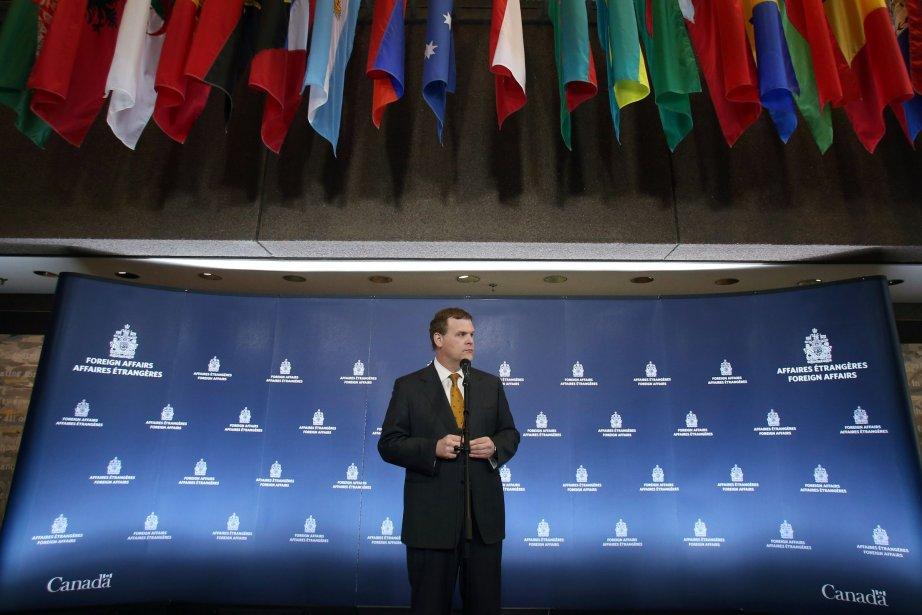 Selon le ministre canadien des Affaires étrangères, John... (Photo FRED CHARTRAND, PC)