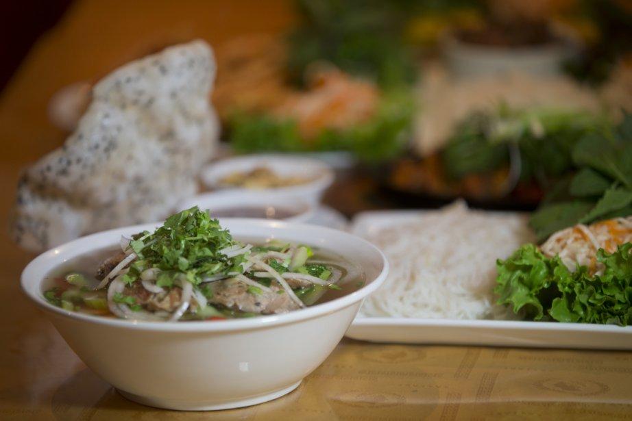 Restaurant Y Lan (Photo Ivanoh Demers, La Presse)