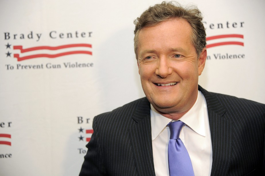 Piers Morgan... (PHOTO ARCHIVES AP)