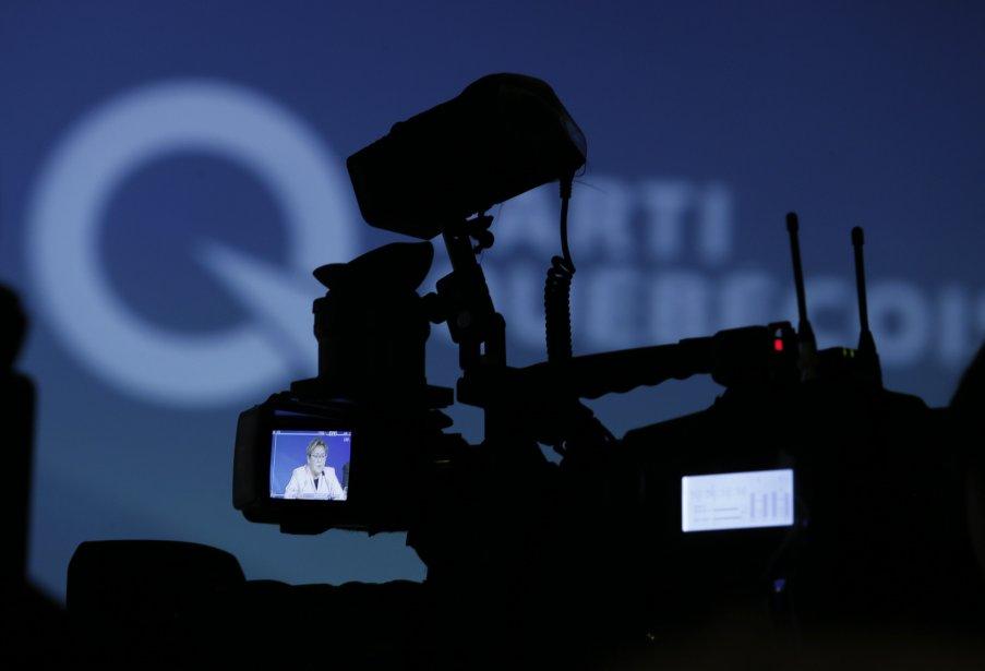 L'intention de voter pour le Parti québécois est... (Photo Christinne Muschi, Reuters)