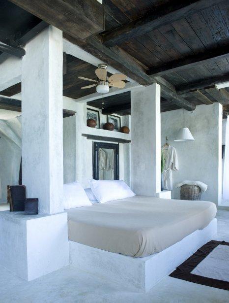 Il n'y a pas d'air climatisé dans les chambres: c'est l'air salin de la mer qui rafraîchit. (Photo fournie par le Coqui Coqui)
