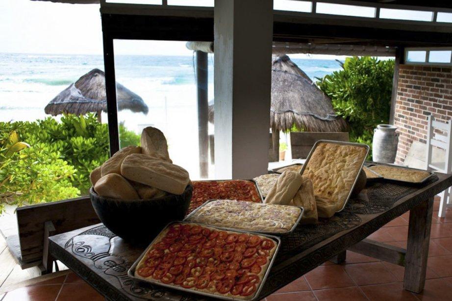 Un aperçu des délicieuses pizzas et foccacias qui sont offertes en amuse-bouche à la place des tortillas et de la salsa. (Photo fournie par le Posada Margherita)
