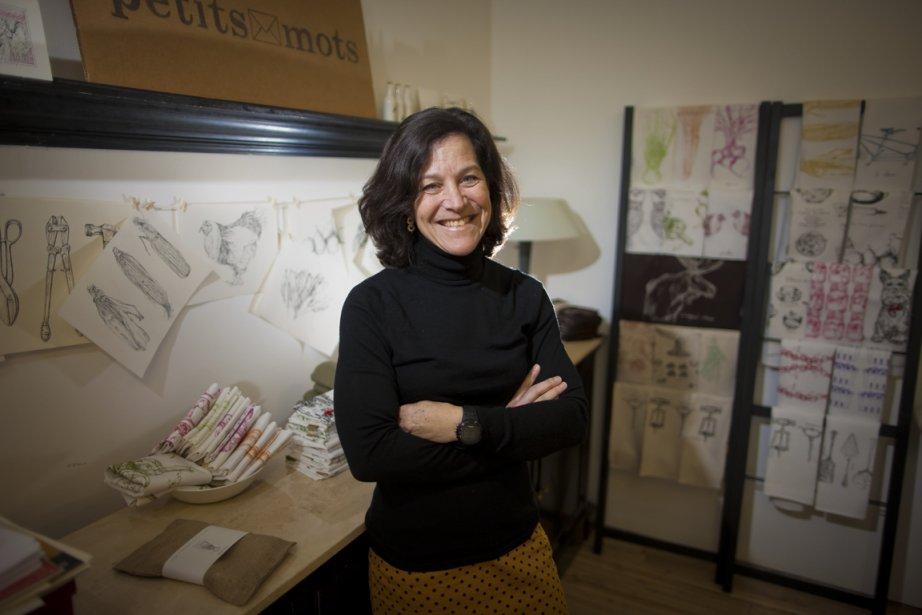 Debra Brown, de Les petits mots. (Photo André Pichette, La Presse)