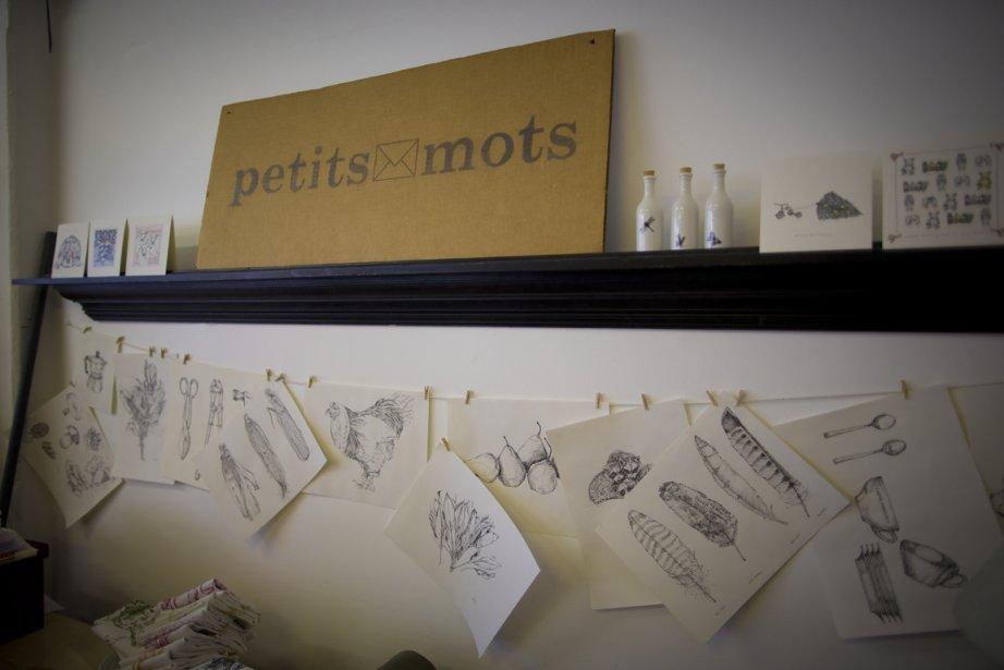 Les petits mots (Photo André Pichette, La Presse)
