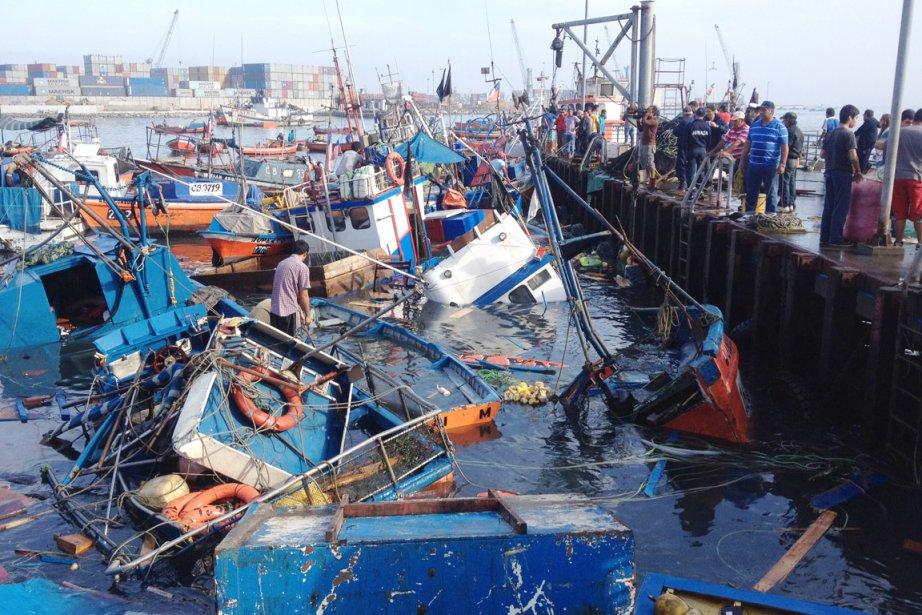 Dans les régions d'Arica, Antofagasta et à Iquique... (PHOTO ALDO SOLIMANO, AFP)
