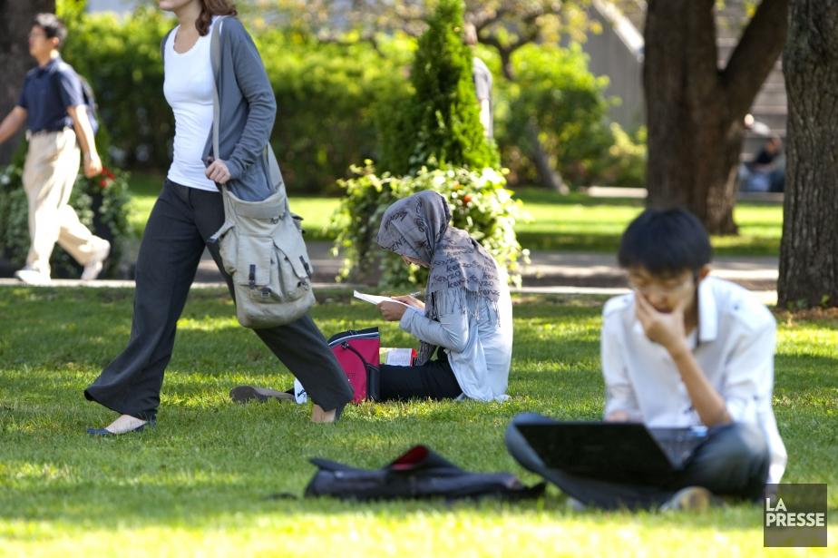 Le recul général des étudiants étrangers sur les... (Photo Alain Roberge, archives La Presse)