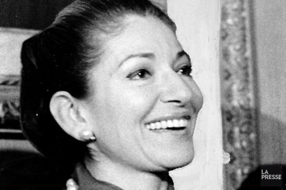 Maria Callas en 1974.... (Photo: Pierre McCann, archives La Presse)