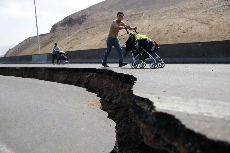 Pays le plus sismique au monde, le Chili, frappé mardi par un... (Photo Reuters)