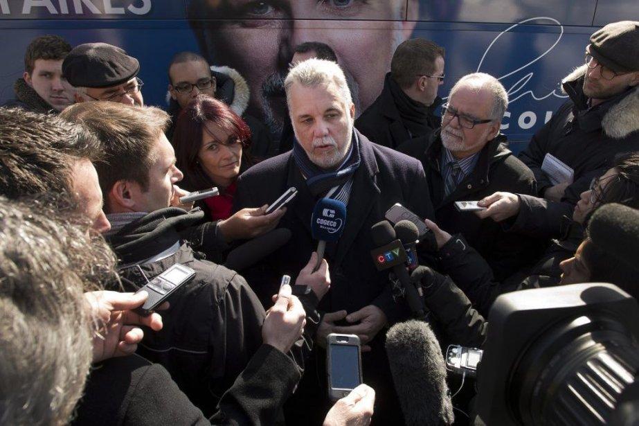 Philippe Couillard... (Photo La Presse Canadienne)