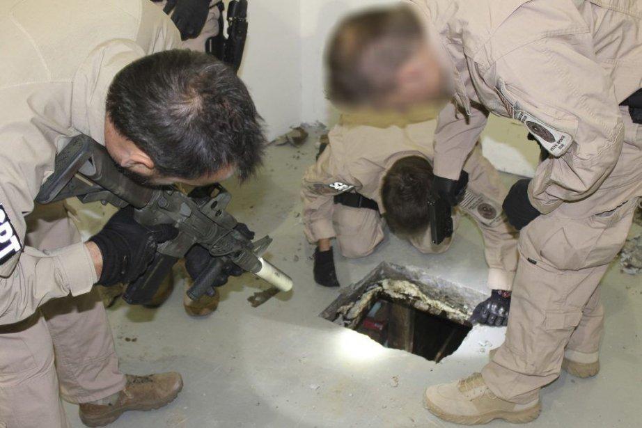 L'un des tunnels est très sophistiqué, équipé de... (Photo Reuters)
