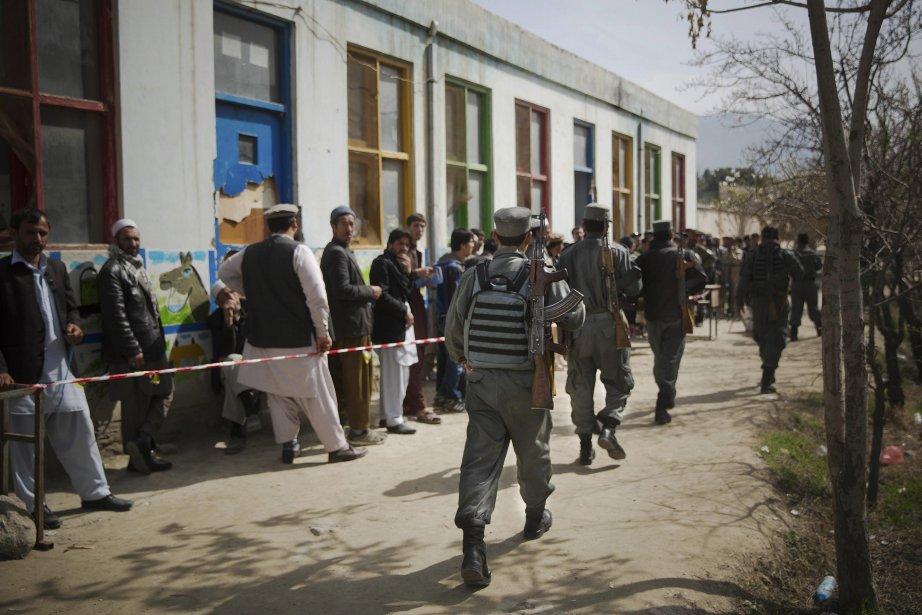 Cette photo d'Anja Niedringhaus, tuée hier en Afghanistan,... (Photo Anja Niedringhaus, Associated Press)