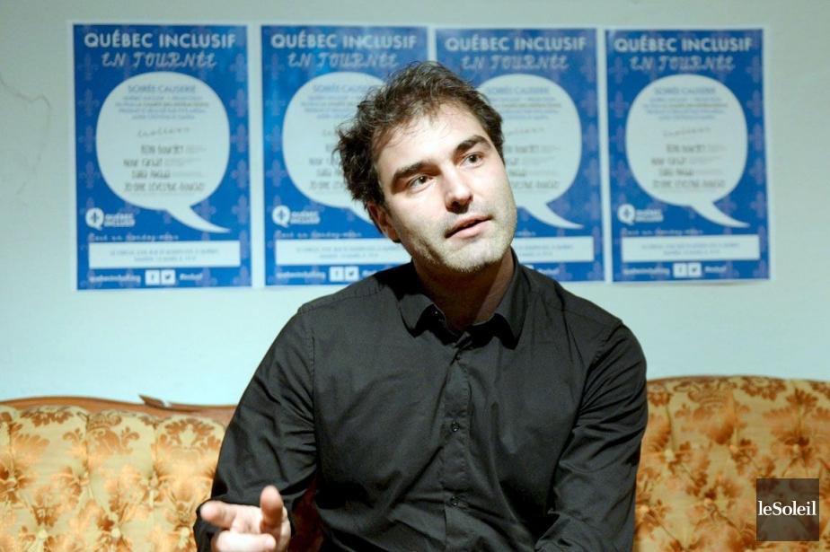 Rémi Bourget a dénoncé l'intention du Parti québécois... (Photo Pascal Ratthé, Le Soleil)