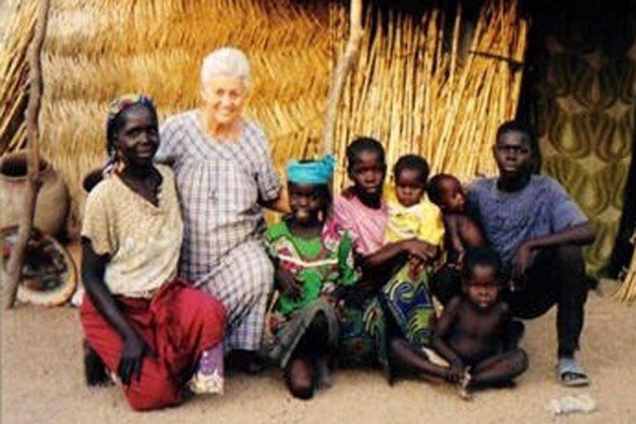 Soeur Gilberte Bussière.... (Photo : capture d'écran tirée d'un blogue catholique)