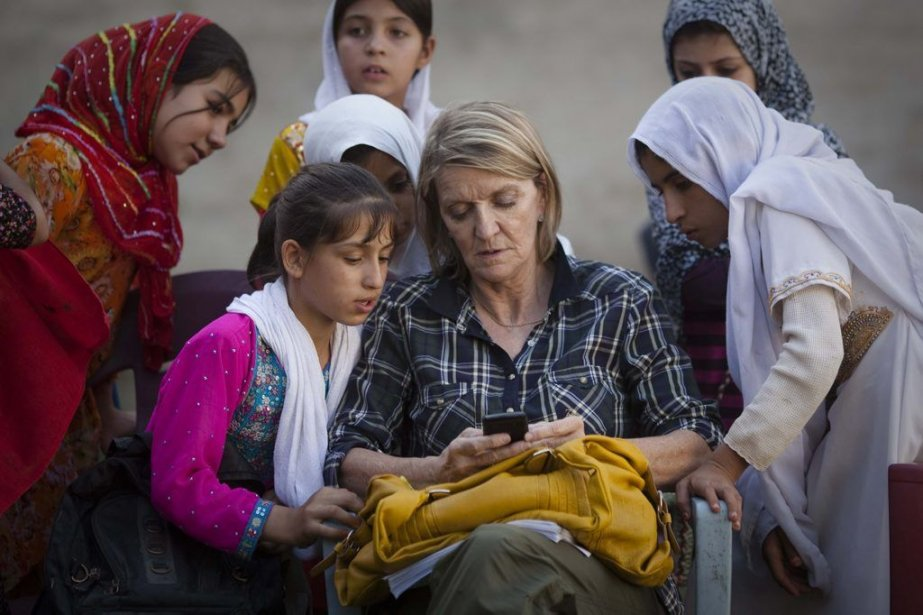 Kathy Gannon, 60 ans, correspondante expérimentée en Afghanistan... (Photo Anja Niedringhaus, AP)