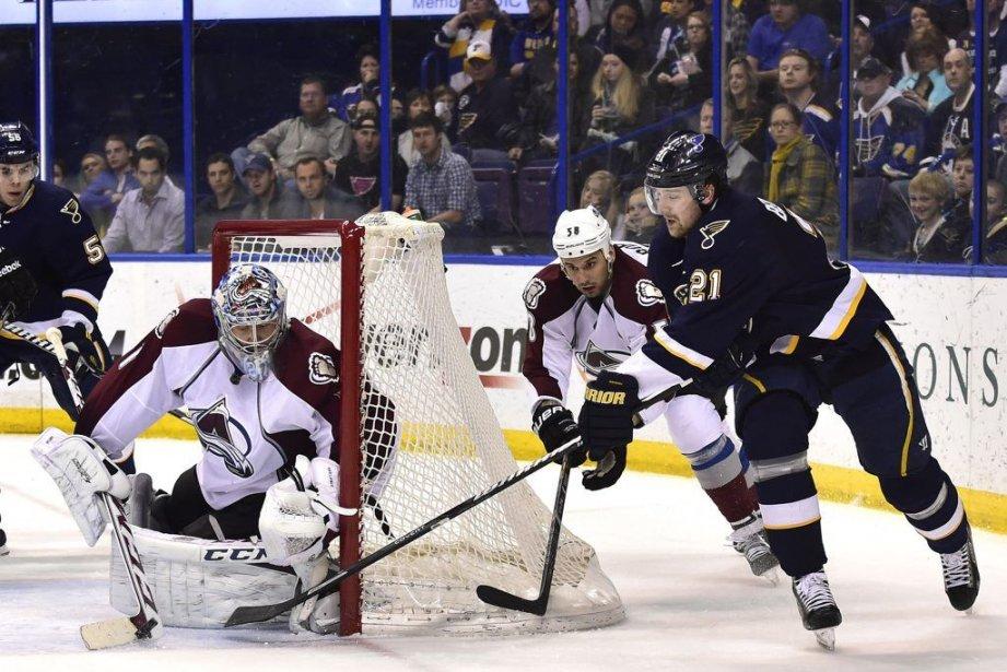 Le gardien Semyon Varlamov (1) a récolté sa... (PHOTO SCOTT ROVAK, USA TODAY)