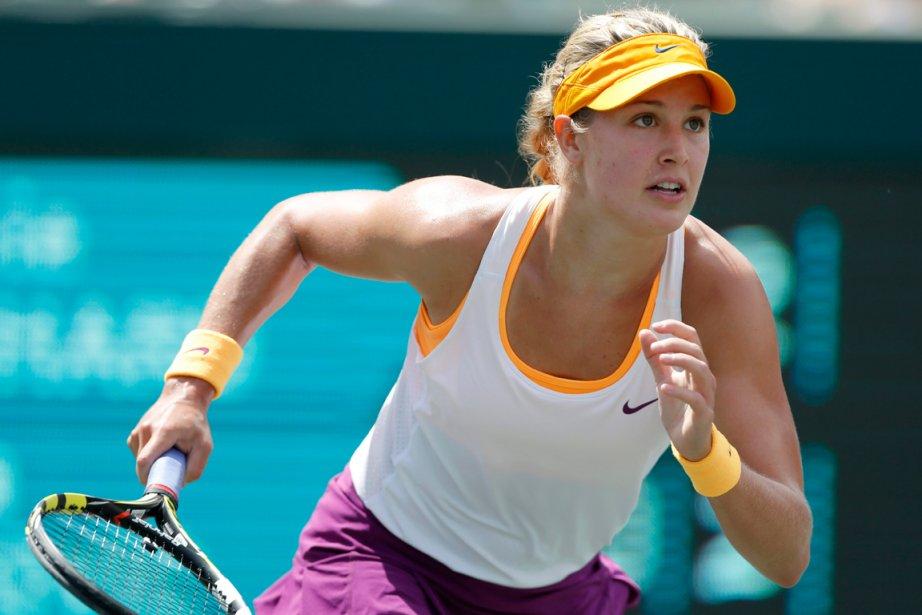 Eugenie Bouchard a battu Venus Williams et Jelena... (Photo Mic Smith, AP)
