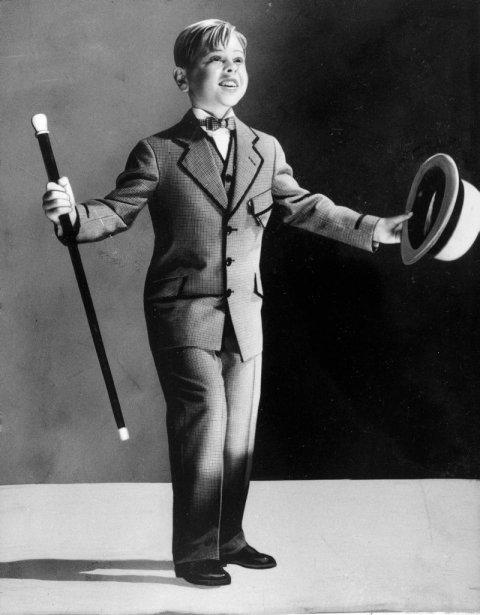 Mickey Rooney à l'âge de 7 ans. (Photo: archives AP)