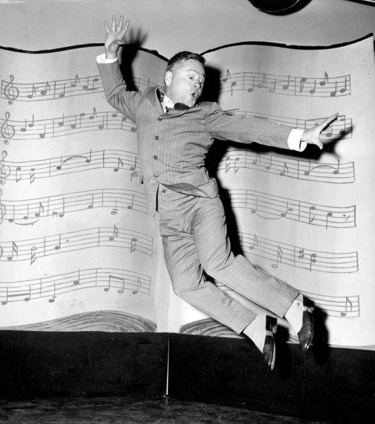 Mickey Rooney en 1957. (Photo: archives AP)
