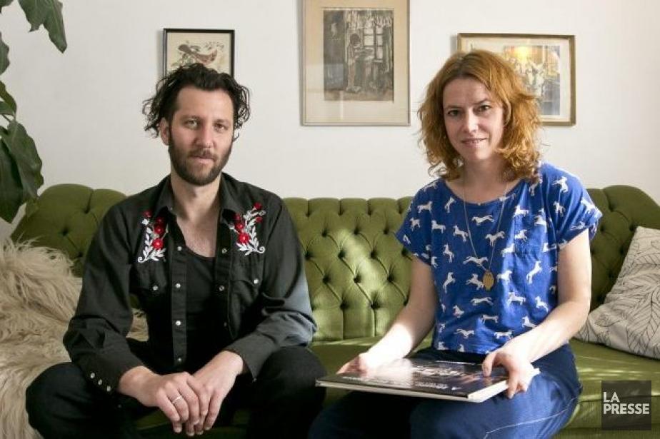 Le couple Erika et Simon Angell, du groupe... (Photo: Hugo-Sébastien Aubert, La Presse)