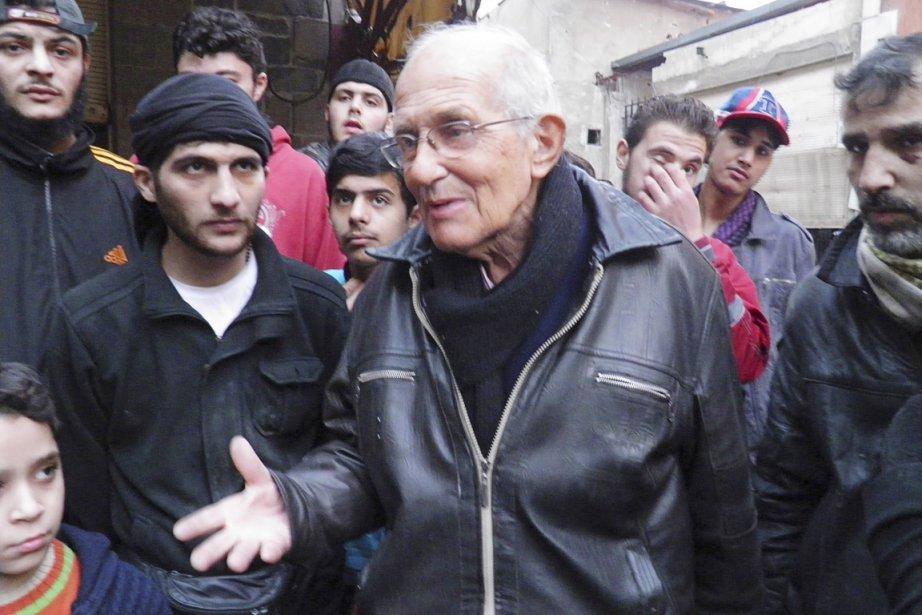 Arrivé en Syrie en 1966, le prêtre avait... (PHOTO YAZAN HOMSY, ARCHIVES REUTERS)