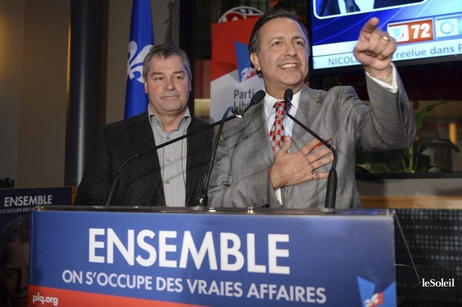 Les libéraux ont mis la main sur quatre... (PHOTO ÉRICK LABBÉ, LE SOLEIL)